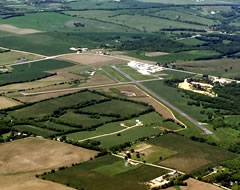 Aerial photo of KEFT (Monroe Municipal Airport)