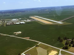 Aerial photo of KTWT (Sturgis Municipal Airport)