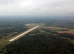Aerial photo of KBFR (Virgil I Grissom Municipal Airport)
