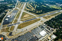 Aerial photo of KDNL (Daniel Field Airport)