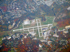 Aerial photo of KPOU (Hudson Valley Regional Airport)