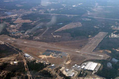 Aerial photo of KRCZ (Richmond County Airport)