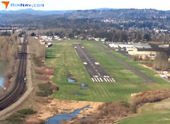 Aerial photo of KKLS (Southwest Washington Regional Airport)