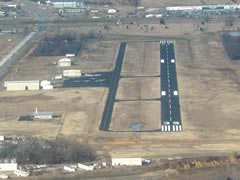 Aerial photo of KJSV (Sallisaw Municipal Airport)