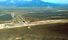 Aerial photo of KSKX (Taos Regional Airport)