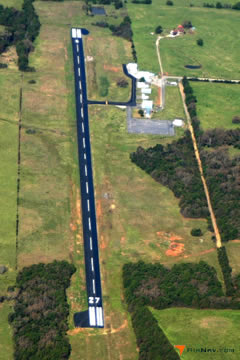 Aerial photo of M27 (Waldron Municipal Airport)