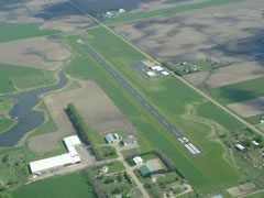 Aerial photo of 7G9 (Canton Municipal Airport)