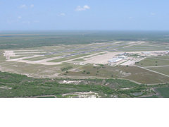Aerial photo of KNQI (Kingsville Naval Air Station)