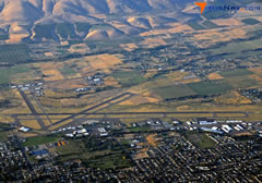 Aerial photo of KYKM (Yakima Air Terminal/McAllister Field)
