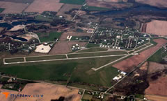 Aerial photo of KOEB (Branch County Memorial Airport)