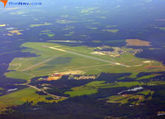 Aerial photo of KMMT (Mc Entire Joint National Guard Base)