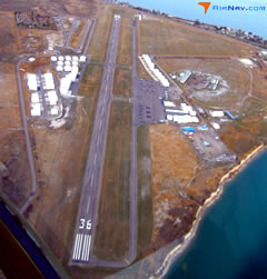 Aerial photo of 8S1 (Polson Airport)