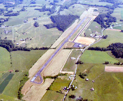 Aerial photo of KTZV (Tompkinsville-Monroe County Airport)