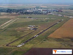 Aerial photo of I06 (City of Tulia/Swisher County Municipal Airport)