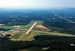 Aerial photo of KGAD (Northeast Alabama Regional Airport)