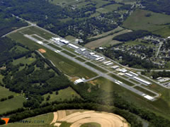 Aerial photo of KVPC (Cartersville Airport)