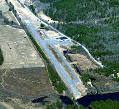 Aerial photo of 8B1 (Hawthorne-Feather Airpark)