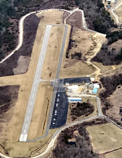 Aerial photo of 3B0 (Southbridge Municipal Airport)