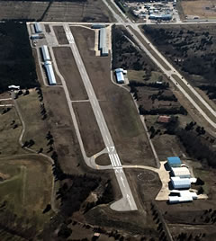 Aerial photo of F46 (Ralph M Hall/Rockwall Municipal Airport)
