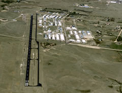 Aerial photo of KFLY (Meadow Lake Airport)