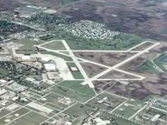 Aerial photo of KTIP (Rantoul National Aviation Center Airport-Frank Elliott Field)