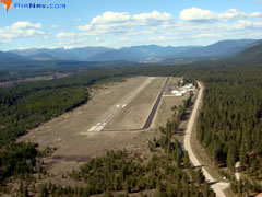 Aerial photo of S59 (Libby Airport)