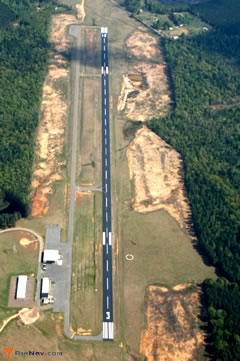 Aerial photo of KLLQ (Monticello Municipal Airport/Ellis Field)