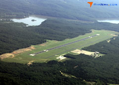 Aerial photo of KAIZ (Lee C Fine Memorial Airport)