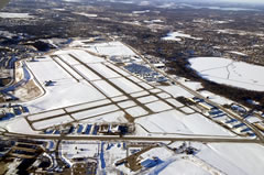 Aerial photo of KFCM (Flying Cloud Airport)