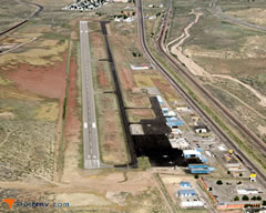 Aerial photo of KGUP (Gallup Municipal Airport)