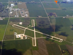 Aerial photo of KSPW (Spencer Municipal Airport)