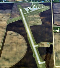Aerial photo of KGHW (Glenwood Municipal Airport)