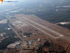 Aerial photo of KBQK (Brunswick Golden Isles Airport)