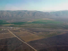 Aerial photo of U00 (Leadore Airport)