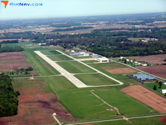 Aerial photo of KGWB (De Kalb County Airport)