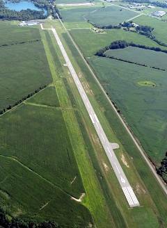 Aerial photo of I95 (Hardin County Airport)