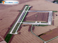 Aerial photo of KOOA (Oskaloosa Municipal Airport)