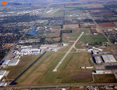 Aerial photo of KBEC (Beech Factory Airport)