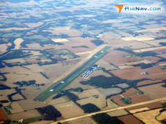 Aerial photo of KCEY (Kyle-Oakley Field Airport)