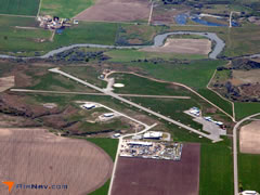 Aerial photo of U10 (Preston Airport)