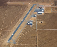 Aerial photo of KAPV (Apple Valley Airport)