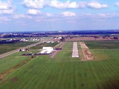 Aerial photo of KUYF (Madison County Airport)