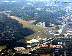 Aerial photo of KINT (Smith Reynolds Airport)