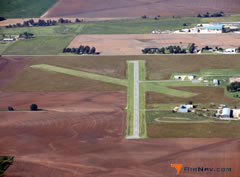 Aerial photo of 8K2 (Harper Municipal Airport)