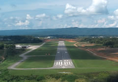 Aerial photo of KBCB (Virginia Tech/Montgomery Executive Airport)