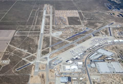 Aerial photo of KVCV (Southern California Logistics Airport)