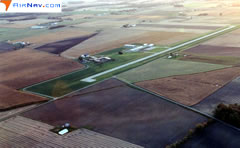 Aerial photo of KOWX (Putnam County Airport)