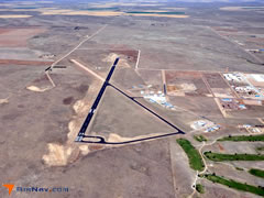 Aerial photo of 2V5 (Wray Municipal Airport)
