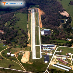 Aerial photo of 4M1 (Carroll County Airport)
