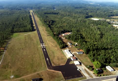 Aerial photo of W63 (Lake Country Regional Airport)